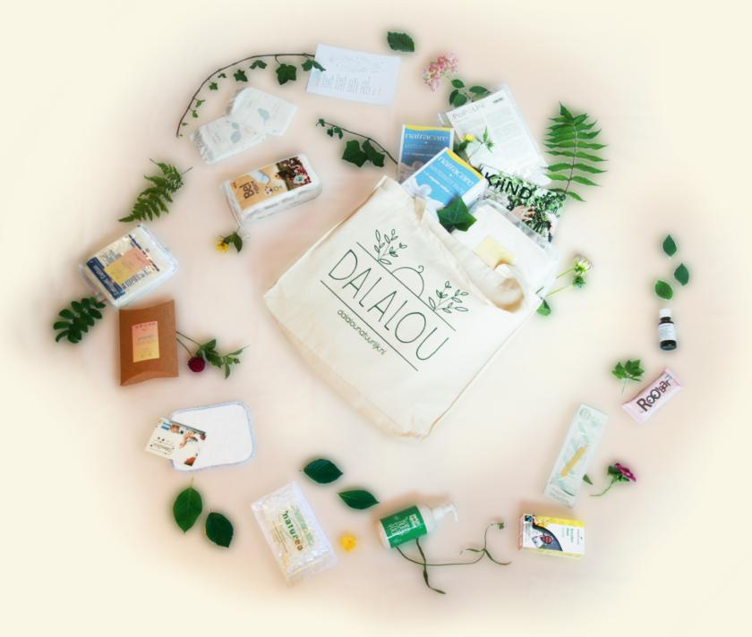 duurzaam bio kraampakket kraamcadeau